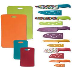 Farberware® 16-pc. Resin Runway Cutlery Set
