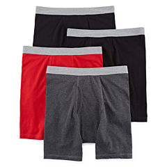 Stafford® 4-pk. Cotton Stretch Boxer Briefs