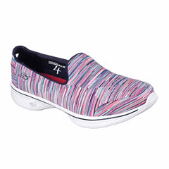Skechers Go Walk 4 Merge Womens Slip-On Shoes