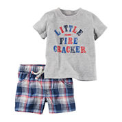 Carter's Boys 2-pc. Short Set
