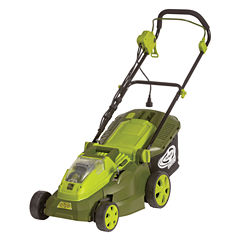 Sun Joe iON 40V Hybrid Cordless or Electric 16-Inch Lawn Mower