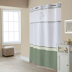 Hookless Windsor Colorblock Shower Curtain