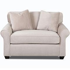 Sleeper Possibilities Roll Arm Chair
