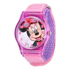 Disney Kids Minnie Mouse Fast Strap Watch