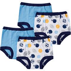Gerber® 4 Pair Potty Training Pants Boys