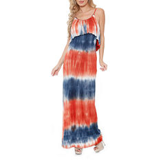 White Mark Kalea Sleeveless Maxi Dress