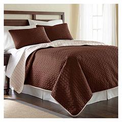 Pacific Coast Textiles 3-pc Coverlet Set