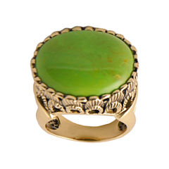 Art Smith by BARSE Green Turquoise Statement Ring