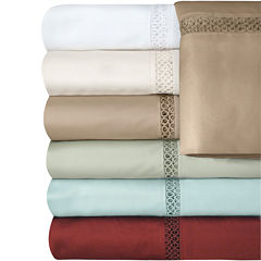 Veratex 500tc  Cotton Sateen Embroidered Prince Sheet Set