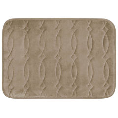 Bounce Comfort Grecian Memory Foam Bath Mat Collection