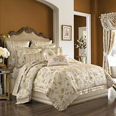 Queen Street® Serafina 4-pc. Jacquard Comforter Set & Accessories