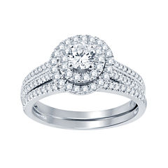 1 CT. T.W. Diamond Bridal Set
