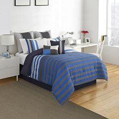IZOD® Regatta Stripe Comforter Set & Accessories