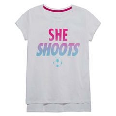 Xersion Short Sleeve Graphic T-Shirt - Girls' 7-16 and Plus