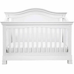 Davinci Louis 4-in-1 Convertilbe Crib with Toddler Rail- White
