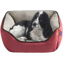 Halo Sparky Reversible Rectangular Cuddler Pet Bed