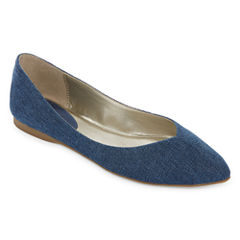 a.n.a® Comet Pointed-Toe Skimmer Flats