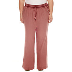 Rewash Linen Pants - Juniors Plus