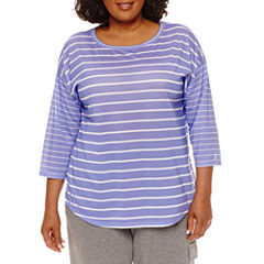 Made For Life 3/4 Sleeve Scoop Neck T-Shirt-Plus