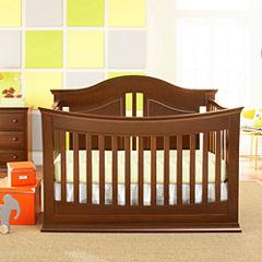 Rockland Austin  4-in-1 Convertible Crib - Cocoa