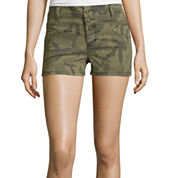 Blue Spice High-Rise Camo Shorts