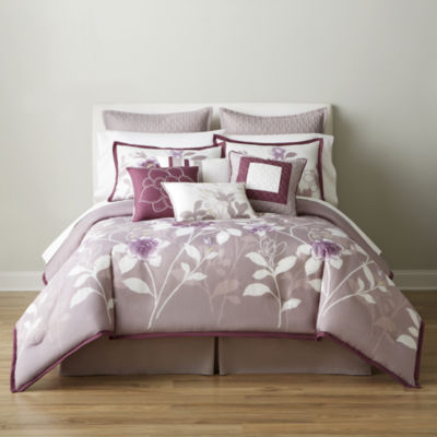 home expressions melise 10pc comforter set