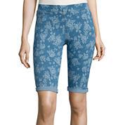 i jeans by Buffalo Print Bermuda Shorts