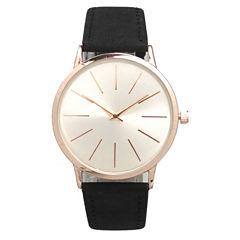 Olivia Pratt Womens Black Strap Watch-16243