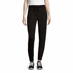 Liz Claiborne Knit Jogger Pants-Talls