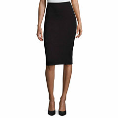 Liz Claiborne A-Line Skirt-Talls