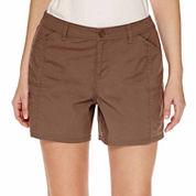 St. John's Bay Poplin Cargo Shorts - Talls