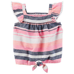 Carter's Sleeveless Babydoll Top - Baby Girls