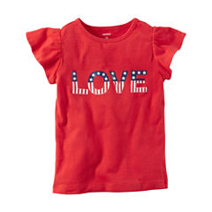 Carter's Short Sleeve T-Shirt-Toddler Girls