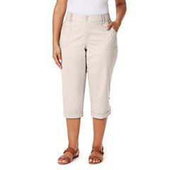 Gloria Vanderbilt Plus Size Casual Capris & Crops for Women - JCPenney