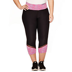 Xersion™ Jersey Workout Capris Plus