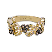LIMITED QUANTITIES Le Vian Grand Sample Sale  1/3 CT. T.W. Color-Enhanced Chocolate and Vanilla Diamond Ring