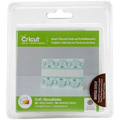 Cricut Shape Cartridge Anna's Flourish Cards and Embellishments