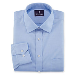 Stafford® Executive Non-Iron Cotton Pinpoint Oxford Dress Shirt