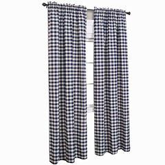 Buffalo Check Rod-Pocket Curtain Panel