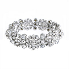 Monet Jewelry The Bridal Collection Womens Stretch Bracelet