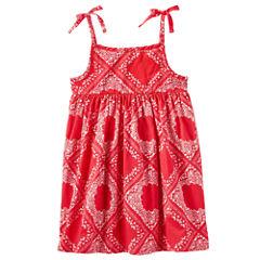 Oshkosh Sleeveless Bandana Dress - Toddler Girls