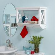 1-Shelf Bathroom Shelf