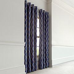 MarthaWindow™ Windsor Wave Grommet-Top Curtain Panel