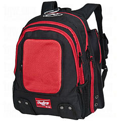 Rawlings 2 Bat Velo Black Baseball Bag