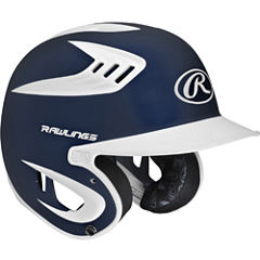 Rawlings 80mph Two-Tone Matte Navy Juniors Baseball Helmet