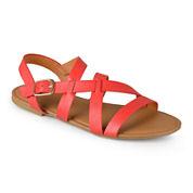 Journee Collection Tamra Open-Toe Sandals