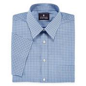 Stafford® Short-Sleeve Easy-Care Broadcloth Dress Shirt