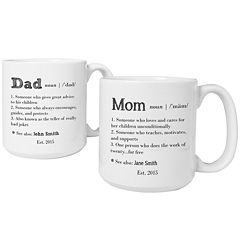 Cathy's Concepts Parent Definition 2-pc. Large Coffee Mug Set