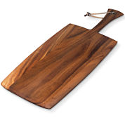 Ironwood Gourmet Rectangular Large Paddle Serving and Cutting Board