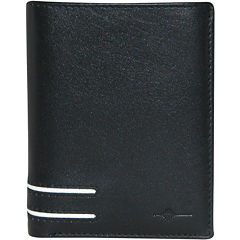 Buxton® Luciano RFID Bi-Fold Leather Wallet
